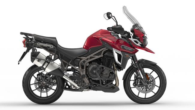 Topmodell der straßenorientierten Modelle ist die Tiger Explorer XRt.