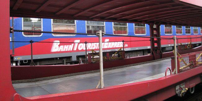 Neuer Autozug-Anbieter BahnTouristikExpress