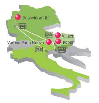 Neue Autozug-Strecken ab 2017