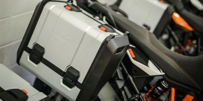 Neuer KTM Kofferträger für Adventure-Modelle