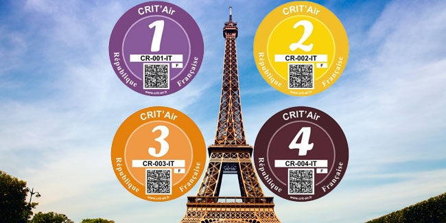 Umweltplakette Crit'Air