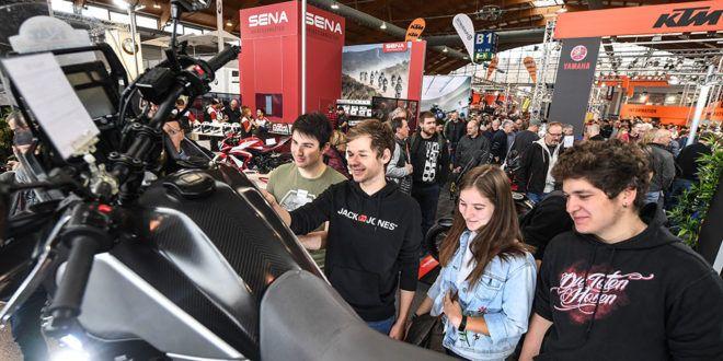 Motorradwelt Bodensee Besucher