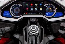 Honda Goldwing mit Android Auto