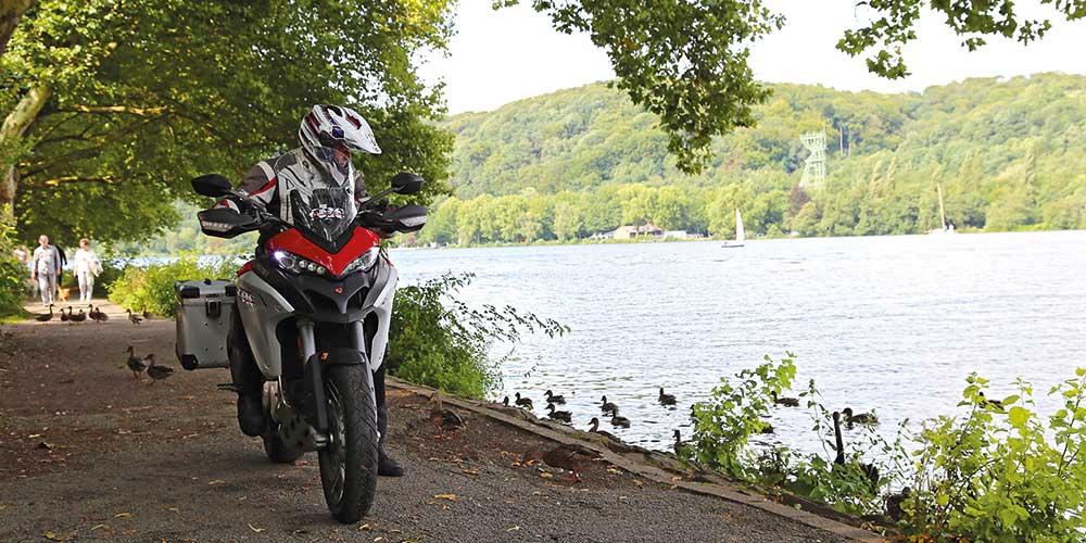 Motorrad-Reiseführer Westdeutschland